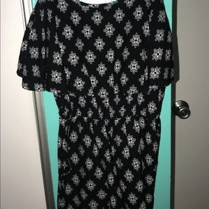Other - Black and white romper